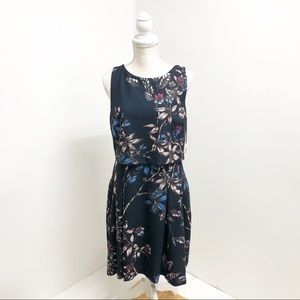 NWT Ivanka Trump Layered Floral Dress Size 10